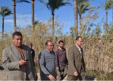 """مساعد محافظ كفر الشيخ يتفقد موقع إنشاء مصنع الرمال بـ""""الشهابية"""""""