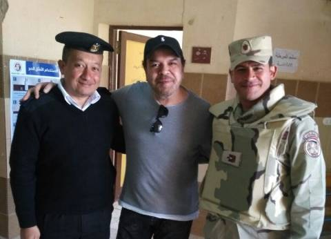 """خالد عجاج يصوت بلجنة """"القرية السياحية"""" في أكتوبر"""