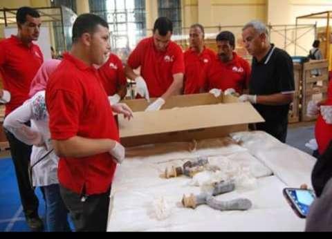 العجلة الحربية لـ«توت عنخ آمون» تشارك باحتفالات نصر أكتوبر