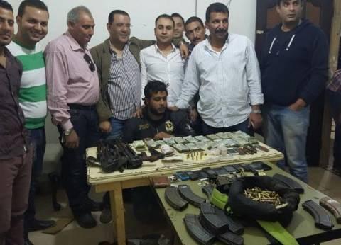 """العثور على أسلحة وقنابل ومخازن مخدرات بالجعافرة عقب مواجهات مع ذيول """"الدكش"""""""
