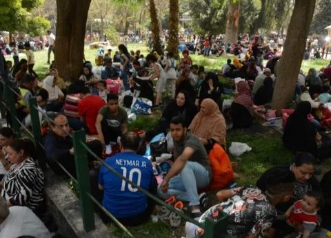 22 ألف زائر في حديقة الحيوان.. والإقبال يتزايد