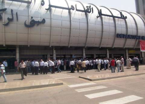 """مطار القاهرة يستقبل 536 حاجا """"ترانزيت"""" من نيجيريا في طريقهم للسعودية"""
