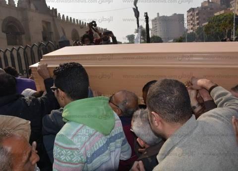 تشييع جنازة الفنانة كريمة مختار إلى مثواها الأخير بالإمام الشافعي