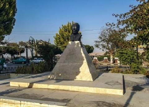 المنيا.. ظاهرة تحطم التماثيل تطال «طه حسين» و«نفرتيتى»