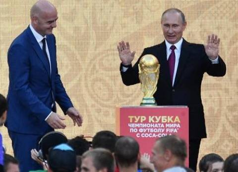 بوتين لن يحضر مواجهة روسيا ومصر في كأس العالم