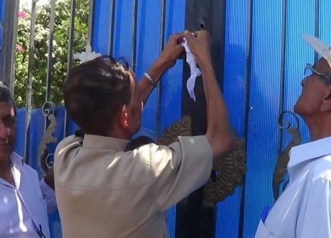 رئيس حي جمرك الإسكندرية يشن حملة لإغلاق المحلات المخالفة