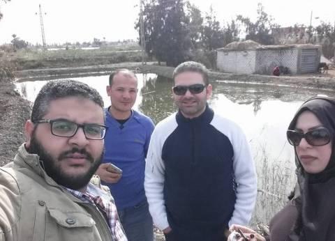 بالصور| حملة مكبرة لرصد أنفلوانزا الطيور بقرى جنوب بورسعيد