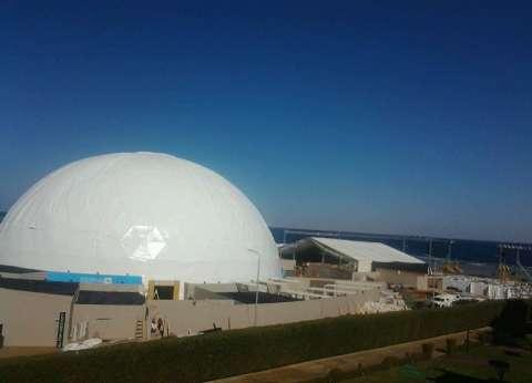 8 معلومات عن القبة الزجاجية.. الأكبر في الشرق الأوسط على شكل كرة أرضية