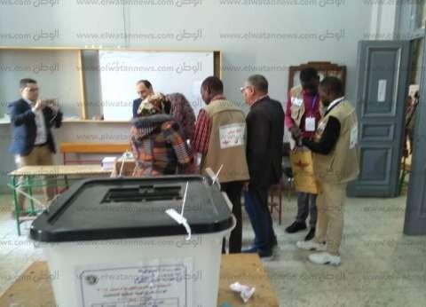 """وفد منظمة """"ماعت"""" يتفقد لجان الاستفتاء بشبين الكوم"""