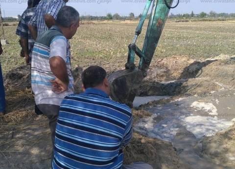 """""""مياه الشرب"""": الانتهاء من توصيل الصرف الصحي في دشنا خلال 45 يوما"""
