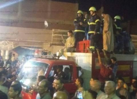 أهالي قرية منيل جويدة بأشمون يشيعون جنازة الشهيد ملازم أول سعيد عصار