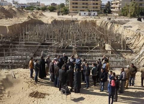 افتتاح مقرا جديدا لبيع السمان والارانب بجامعة العريش