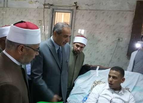"""وفد دعاة """"أوقاف القليوبية"""" يزور المستشفى الجامعي ببنها للتخفيف عن المرضى"""