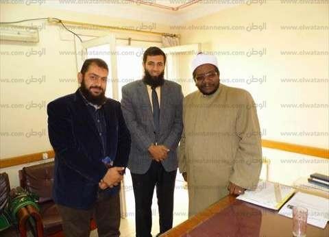 """نائب """"النور"""" في دمياط يناقش مع وكيل وزارة الأوقاف أزمة العجز في خطباء المساجد"""
