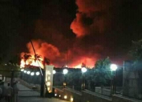 عاجل| حريق في مزرعة مملوكة للمرشح الرئاسي موسى مصطفى موسى