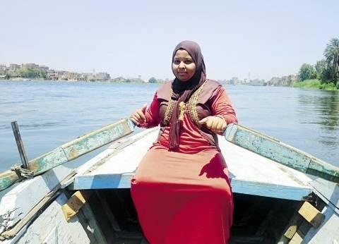 أحلام «منّة» تطفو على «نيل جزيرة الوراق»: صيد السمك غِيّة