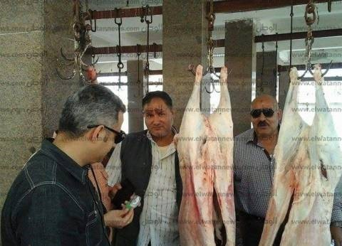 إعدام 3 ذبائح لإصابتهم بالسل بمجزر مطوبس في كفر الشيخ