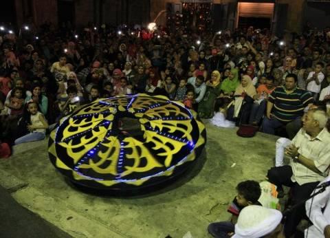رقص شعبي وأراجوز ضمن ليالي رمضان الثقافية والفنية في شارع المعز