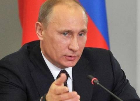 """""""بوتين"""": مصر وروسيا مع المجتمع الدولي قادرين على هزيمة الإرهاب"""
