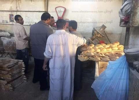حملة لهيئة الرقابة الإدارية بالإسكندرية على المخابز للتأكد من توافر الخبز