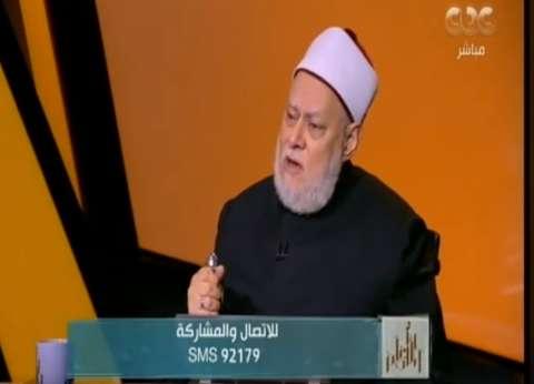 علي جمعة: ثورة 30 يونيو من أيام الله مثل غزوة بدر وفتح مكة
