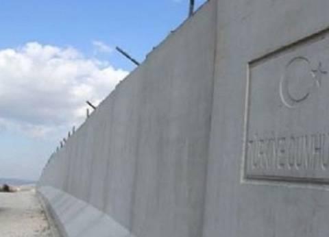 مسؤول تركي: قرب الانتهاء من بناء جدار حدودي مع سوريا