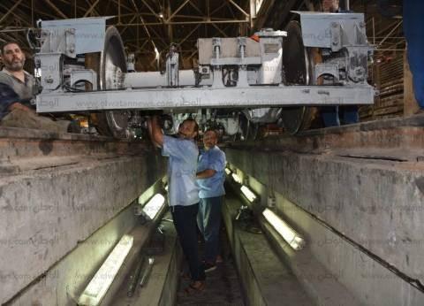 """""""المترو"""": صيانة القطارات والبوابات الإلكترونية استعدادا لبدء الدراسة"""