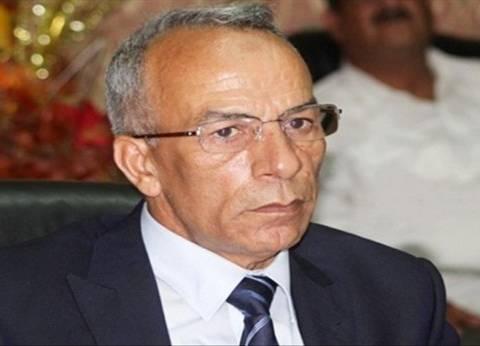 رغم تركه منصبه.. عبدالفتاح حرحور يزور ضحايا الإرهاب في مستشفى العريش