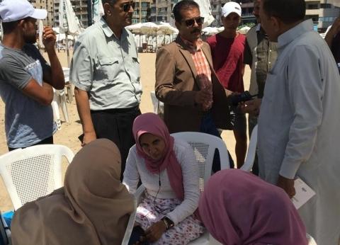 """""""اعرف حقك"""".. حملة لـ سياحة الإسكندرية لتوعية المصطافين في الشواطئ"""