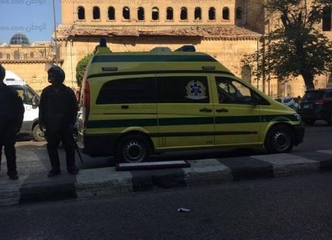 وفد من البرلمان العربي يزور الكاتدرائية لتقديم واجب العزاء