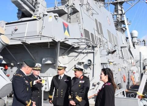 أول زيارة لسفينتين من البحرية الأمريكية لميناء الإسكندرية منذ 2009