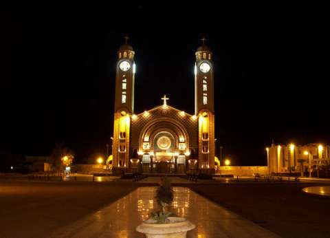 جنازة جماعية لشهداء كنيسة حلوان