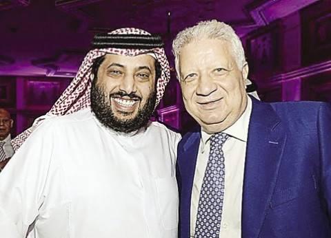 """تركي آل الشيخ ينشر فيديو لشخص يعدد محاسنه: """"ده مع الشريف مرتضى منصور"""""""