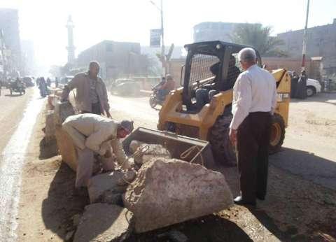 محافظ سوهاج: حملة لرفع كفاءة الشوارع بمدينة المراغة