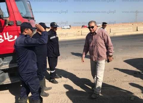 """مدير أمن السويس ولجنة من """"النقل"""" يبحثان الحد من حوادث الطرق"""