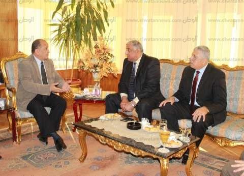 بالصور| تنسيق أمني بين وزارة الداخلية وجامعة طنطا