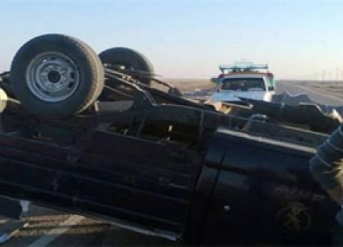 """إصابة 17 مجندا في انقلاب سيارة على طريق """"الغردقة - سفاجا"""""""