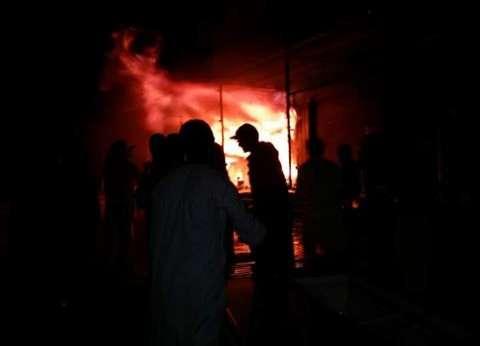اندلاع حريق في أحد المطاعم بأسيوط