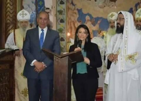 بالصور| وزير السياحة ومحافظ البحر الأحمر يشاركانفيقداسعيد القيامة