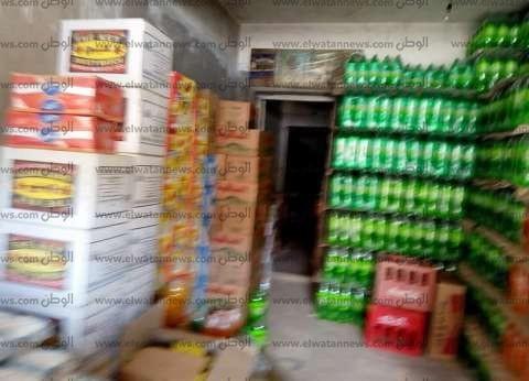 ضبط 8.5 أطنان مواد غذائية «فاسدة» في المنيا