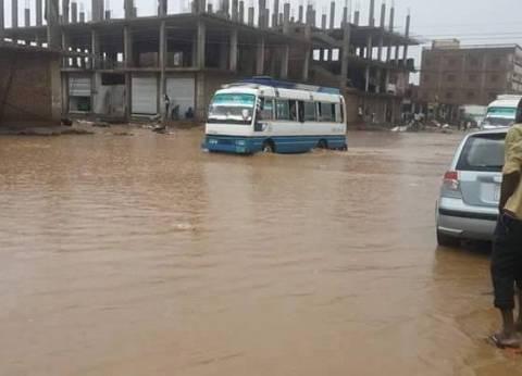 أمطار غزيرة تضرب السودان مع بدء موسم الفيضان