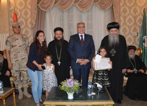 كنائس ومطرانيات المنيا تقدم التهاني للمحافظ بمناسبة عيد الأضحي