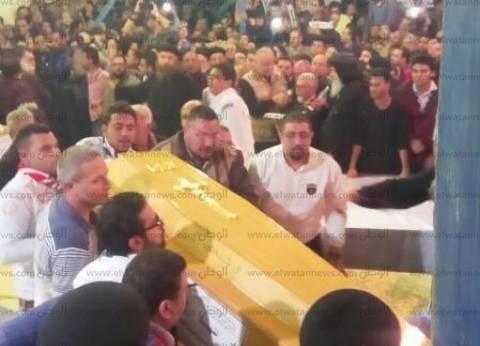 عاجل| وصول جثمان الشهيد الـ28 من ضحايا تفجير طنطا