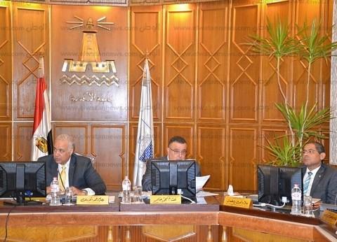 مجلس جامعة الإسكندرية يستعرض منظومة علاج أعضاء هيئة التدريس