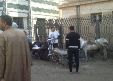 دعاية إنتخابية لمرشح أمام لجنة بديرب نجم