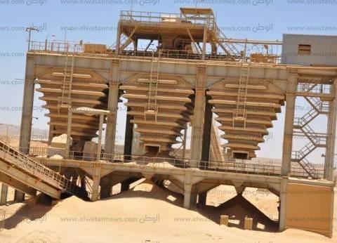 فوسفات «أبوطرطور».. مشروع معطل بسبب سرقة 50 كيلومتراً من قضبان السكة الحديد