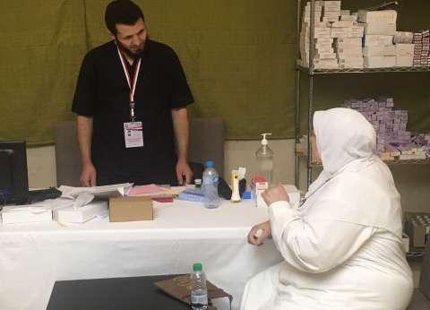 بعثة الحج: الكشف الطبي على 6677 حالة مرضية بين الحجاج في عيادات مكة