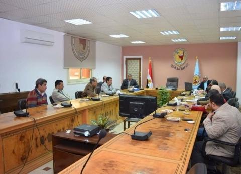 جامعة سوهاج تواصل استعداداتها لمؤتمر تنمية جنوب الصعيد