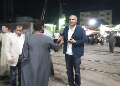 تحرير 40 محضر إشغال للمخالفين بحملة مسائية في العياط