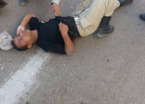 إصابة مجند شرطة بالسويس بطلق ناري عن طريق الخطأ